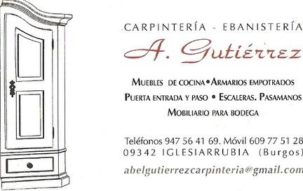 Carpintería Abel Gutiérrez